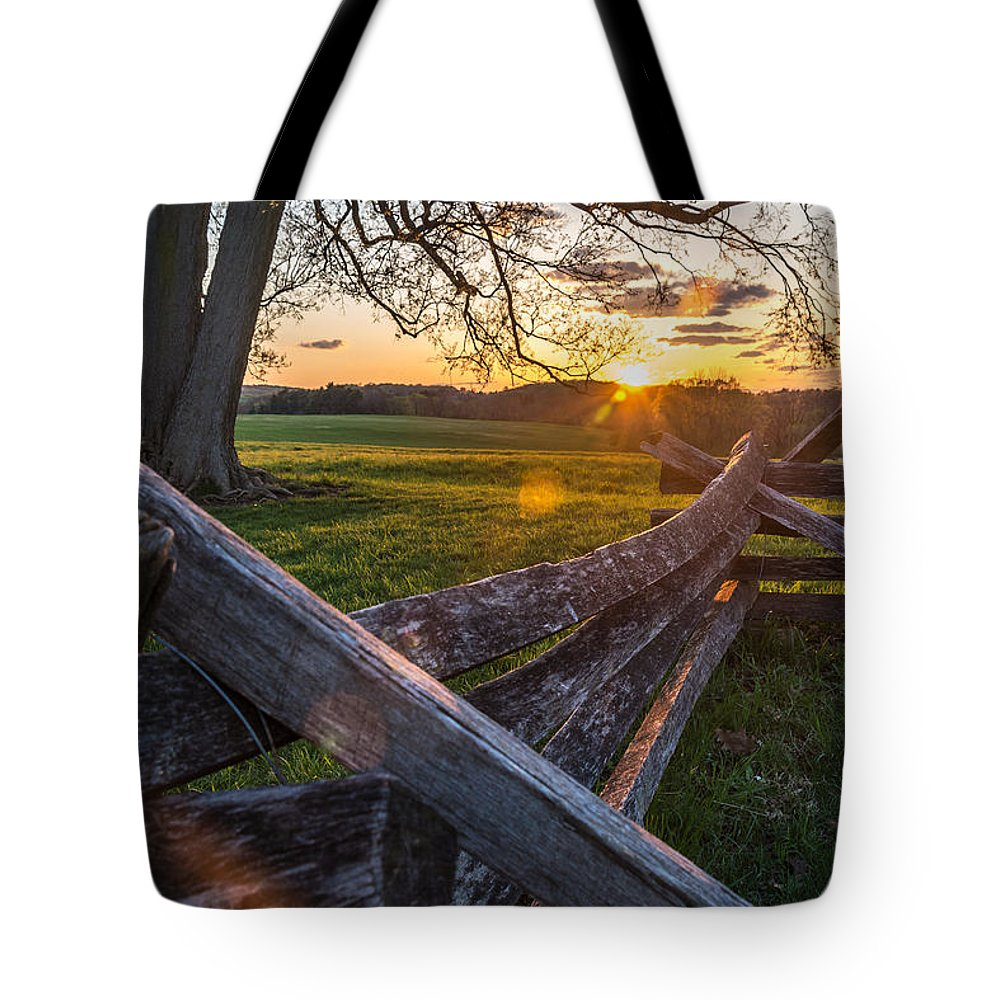 Pennsylvania Tote Bag featuring the photograph Battle is Over by Kristopher Schoenleber
