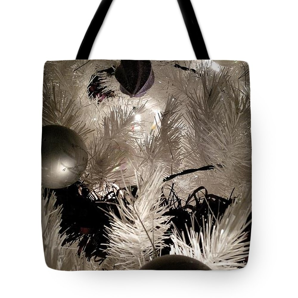 Baubles Tote Bag featuring the photograph Baubles by Richard Brookes
