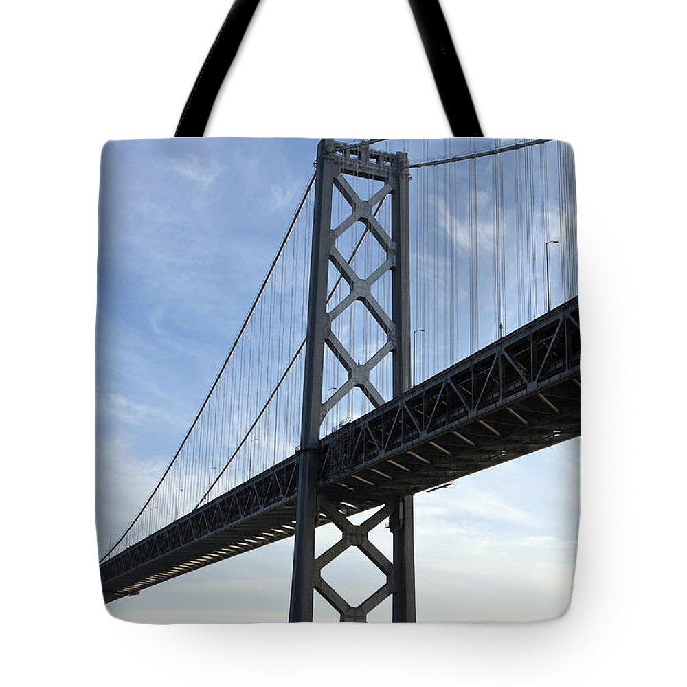 Bay Bridge Tote Bag featuring the photograph Bay Bridge by Jason O Watson