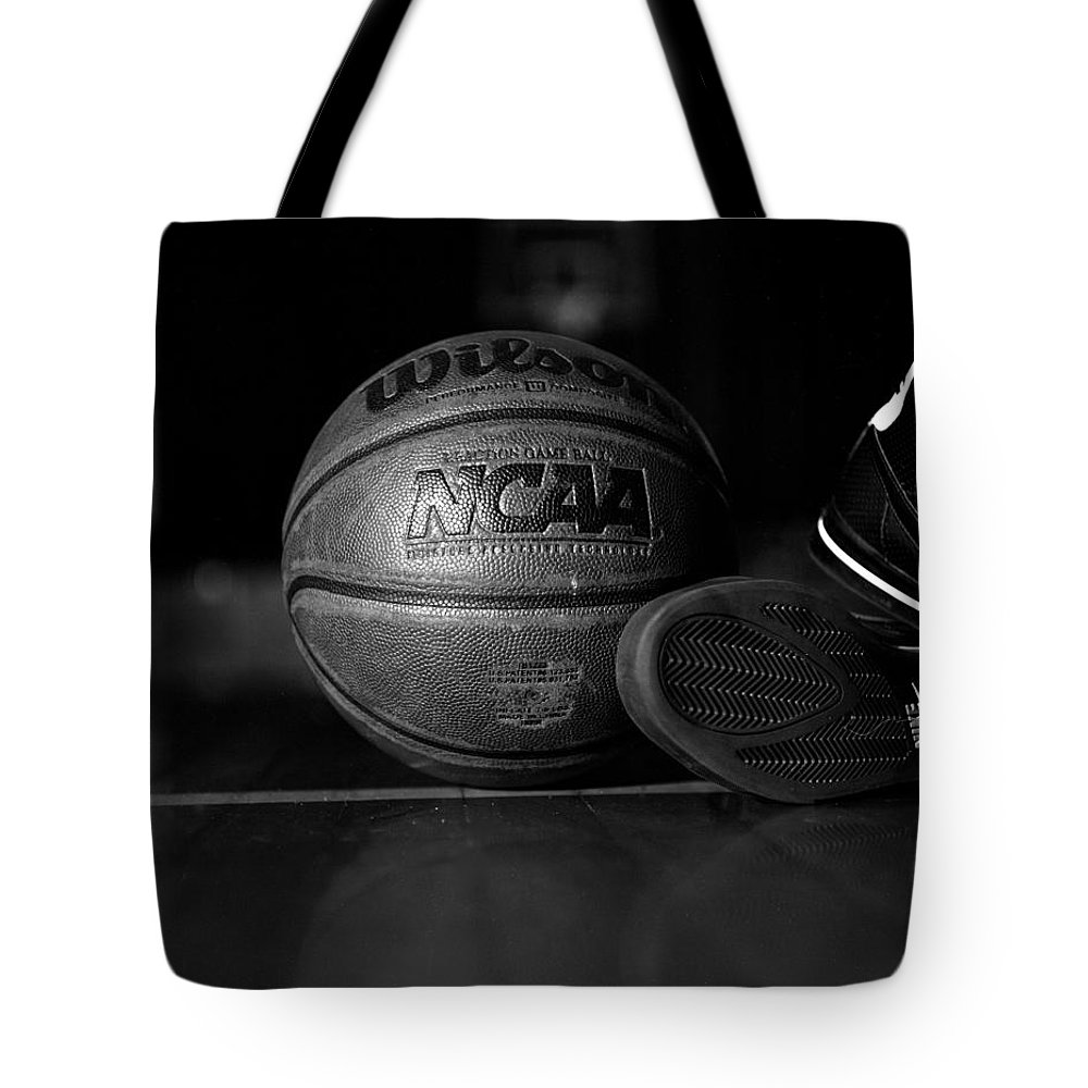 Photography Tote Bag featuring the photograph Bball by Molly Picklesimer