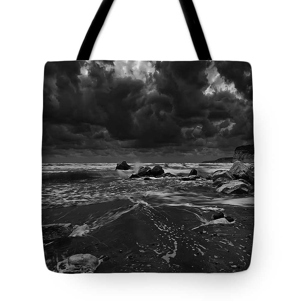 Beach Tote Bag featuring the photograph Beach 31 by Ingrid Smith-Johnsen