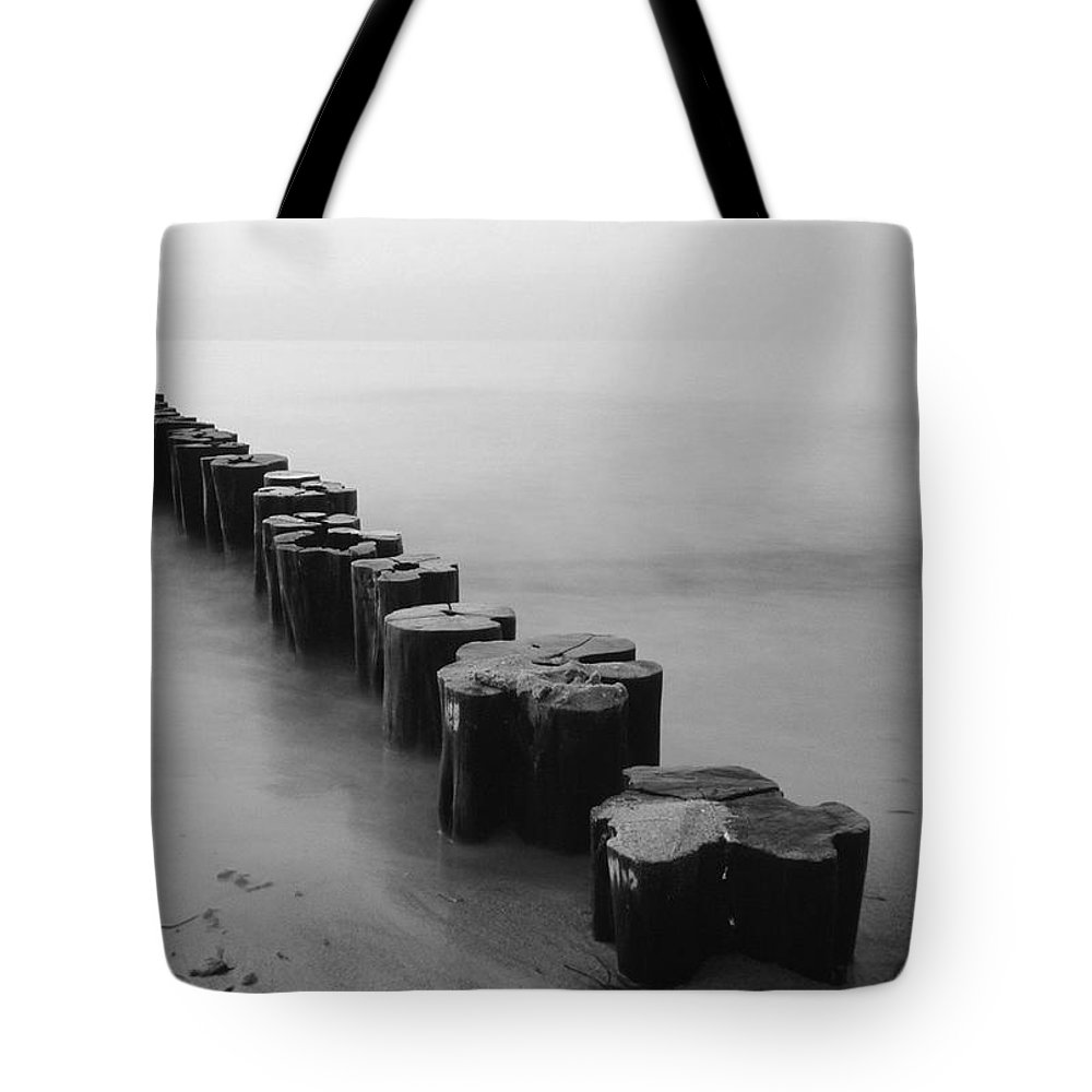 Beach Tote Bag featuring the photograph Beach 27 by Ingrid Smith-Johnsen