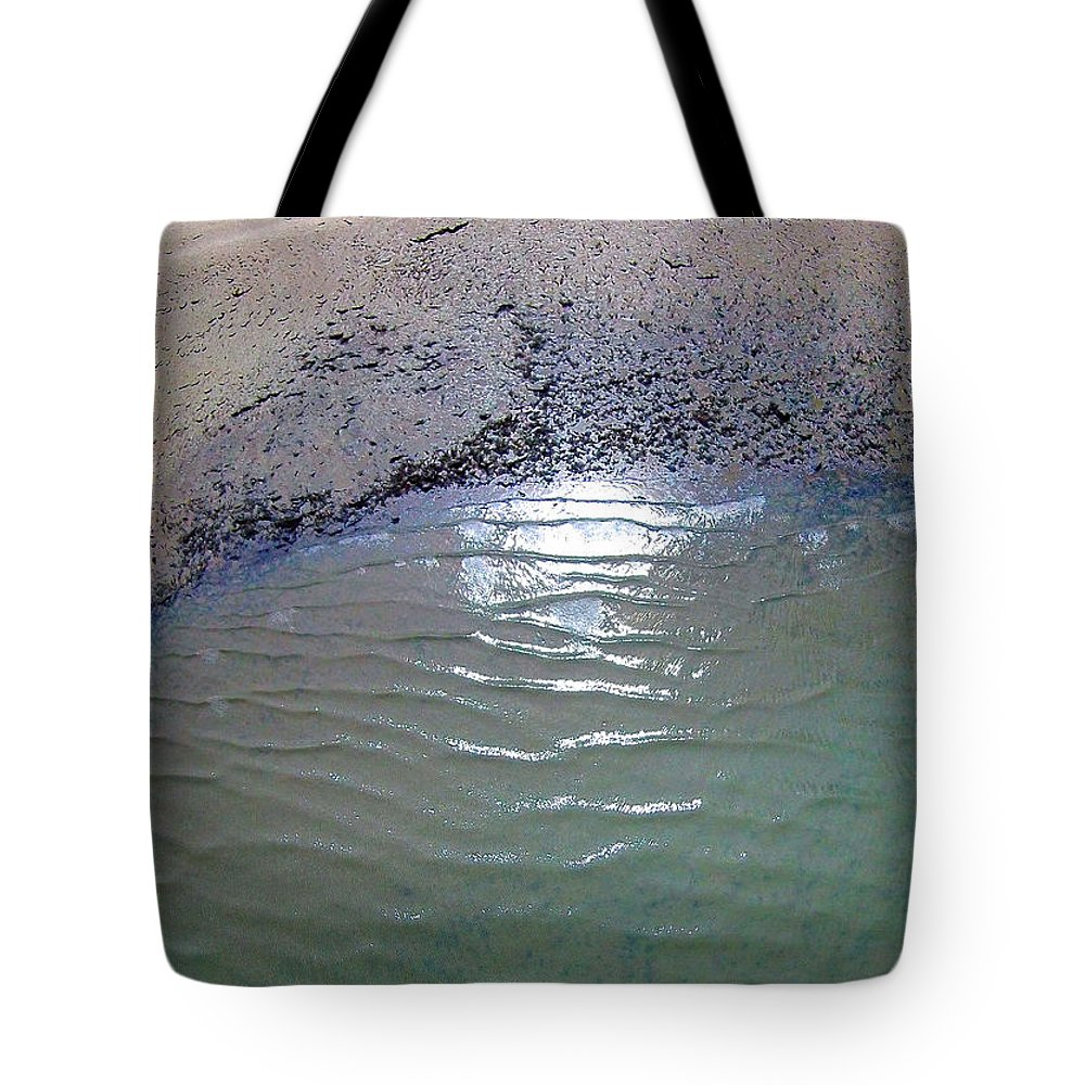 Hilton Head Tote Bag featuring the photograph Beach Abstract by Duane McCullough