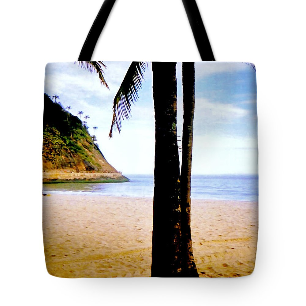 Sand Tote Bag featuring the photograph Beach At Ipanema - 2 by Glenn Aker