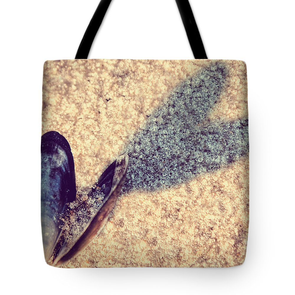 Beach Tote Bag featuring the photograph Beach Love by Emily Kay