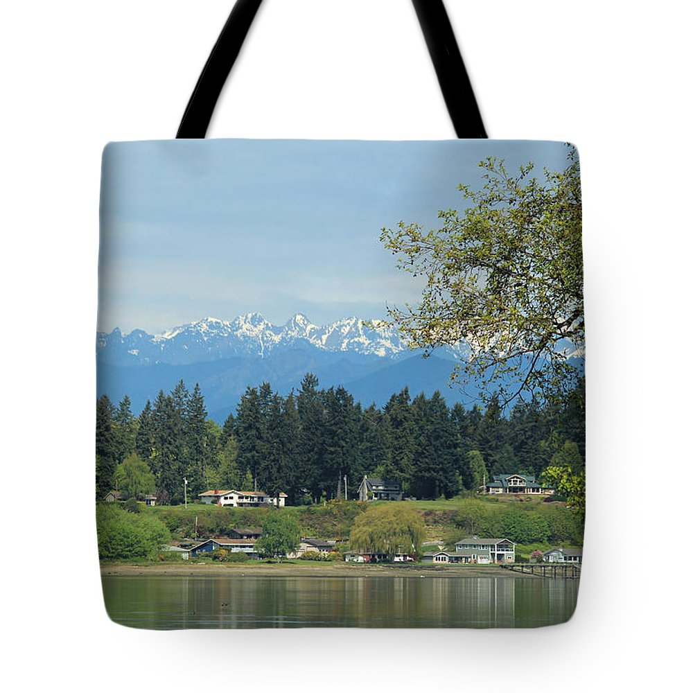 Rocky Point Tote Bag featuring the photograph Beach Rights by E Faithe Lester