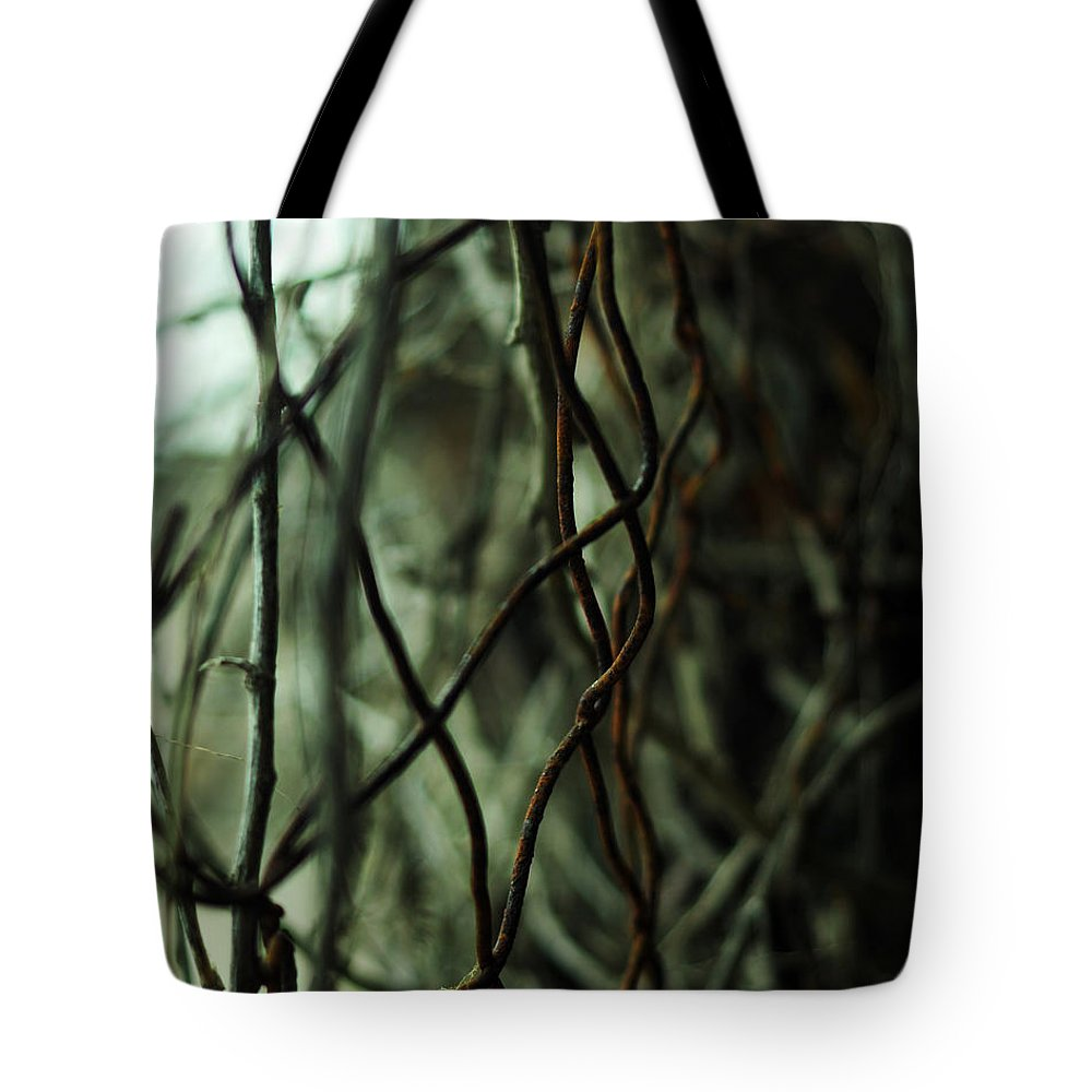 Beach Tote Bag featuring the photograph Beach Rust Abstract by Rebecca Sherman