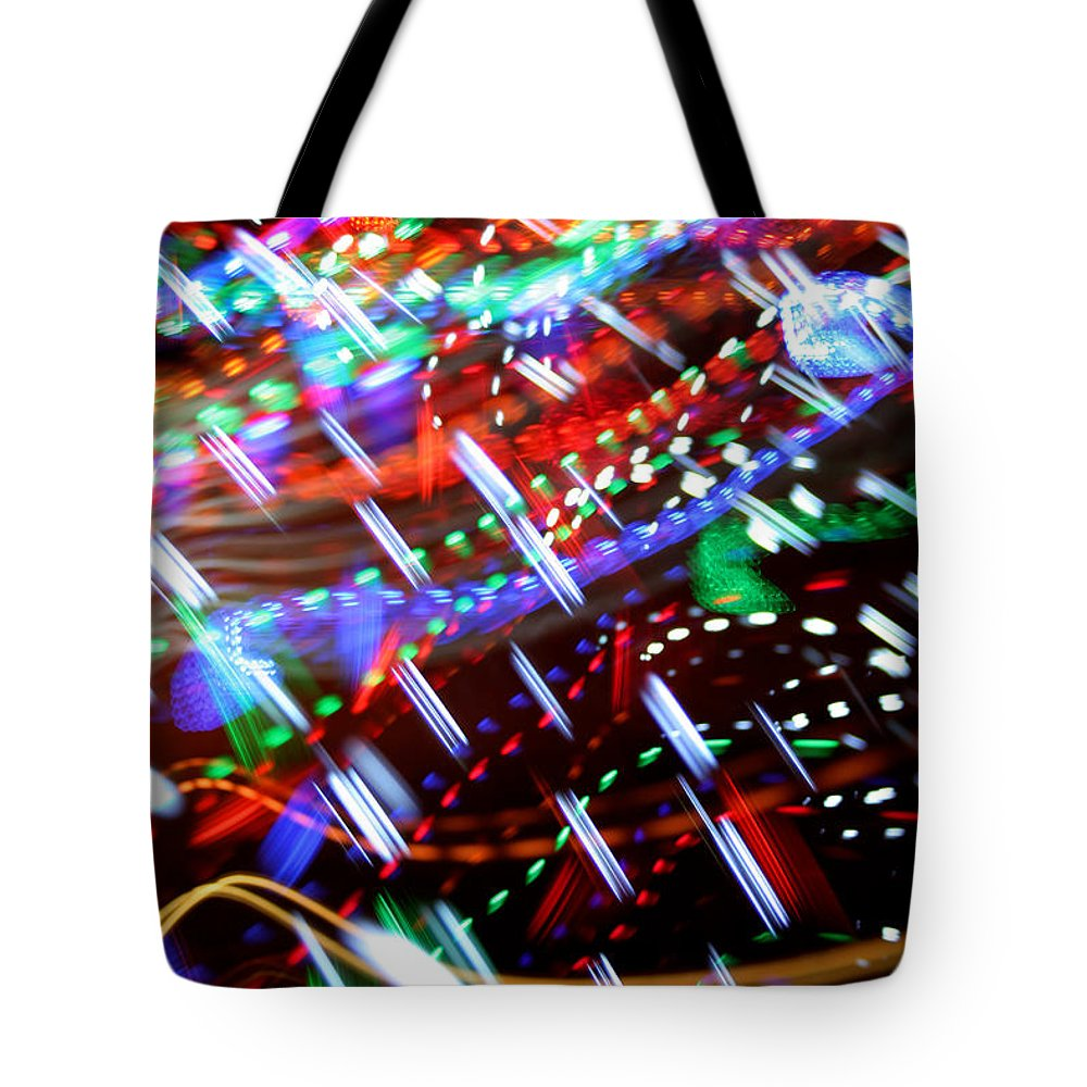 Stripes Tote Bag featuring the photograph Beady by Ric Bascobert