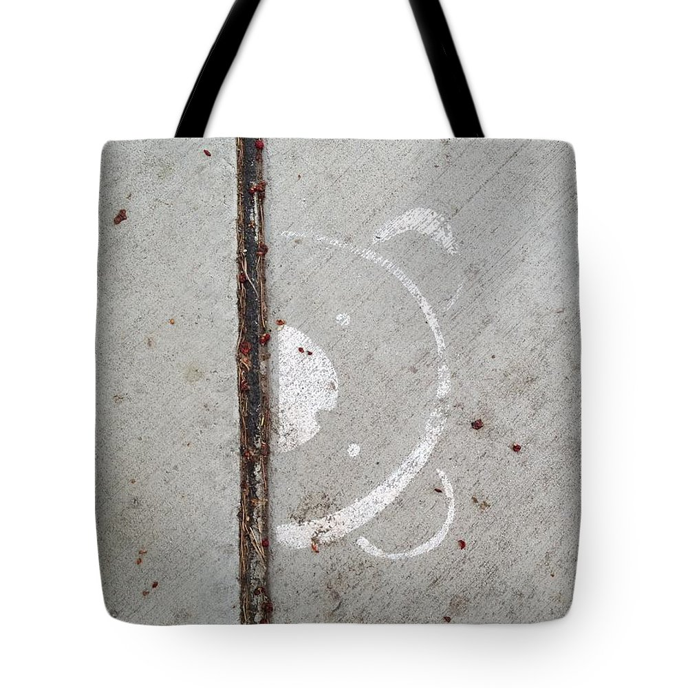 Bear Tote Bag featuring the photograph Bear Aware by Joseph Yarbrough