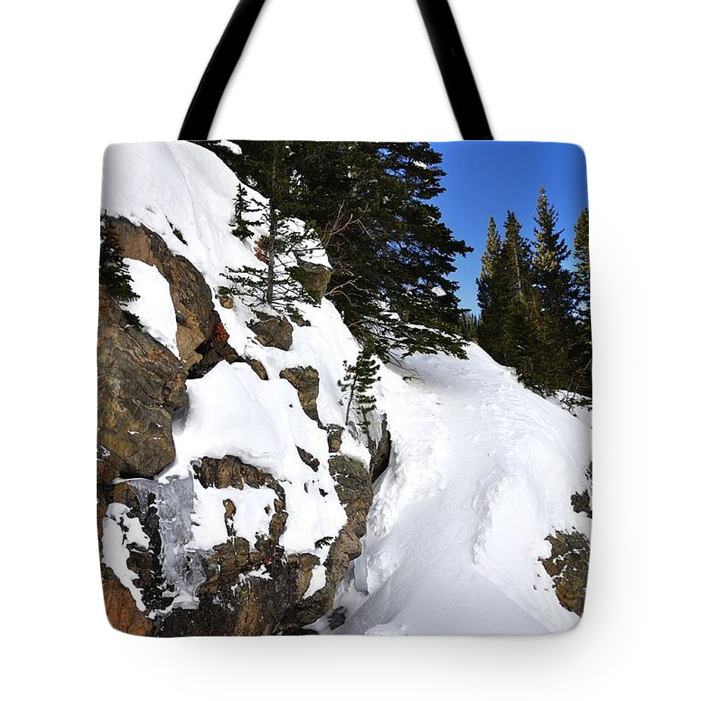 Landscape Tote Bag featuring the photograph Bear Lake 4451 2 by Jerry Sodorff
