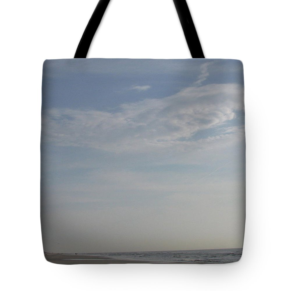 Cloud Tote Bag featuring the photograph Bearded Man Flying Cloud by Ellen Meakin