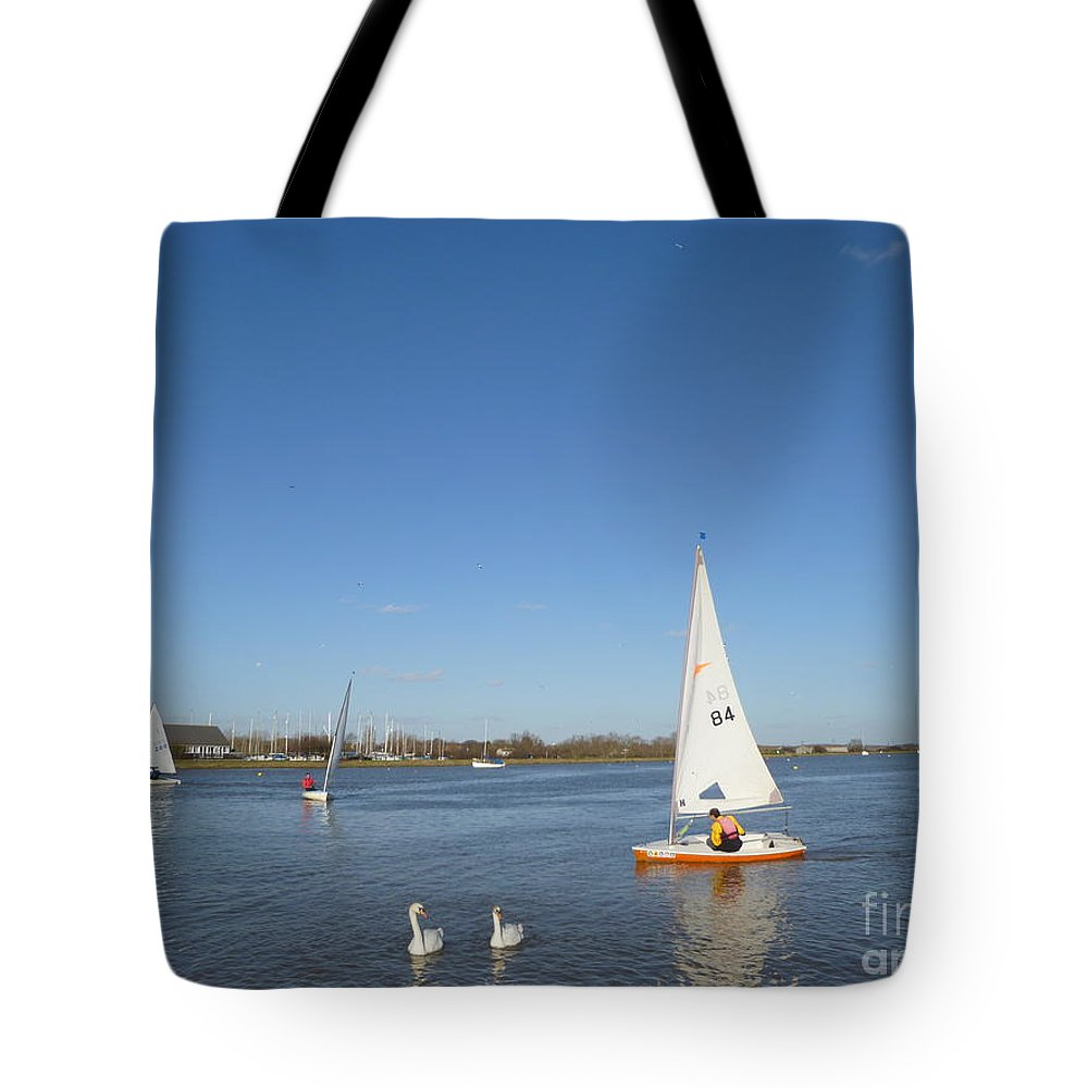 Beautiful Tote Bag featuring the photograph Beautiful Blue Sky by Vicki Spindler