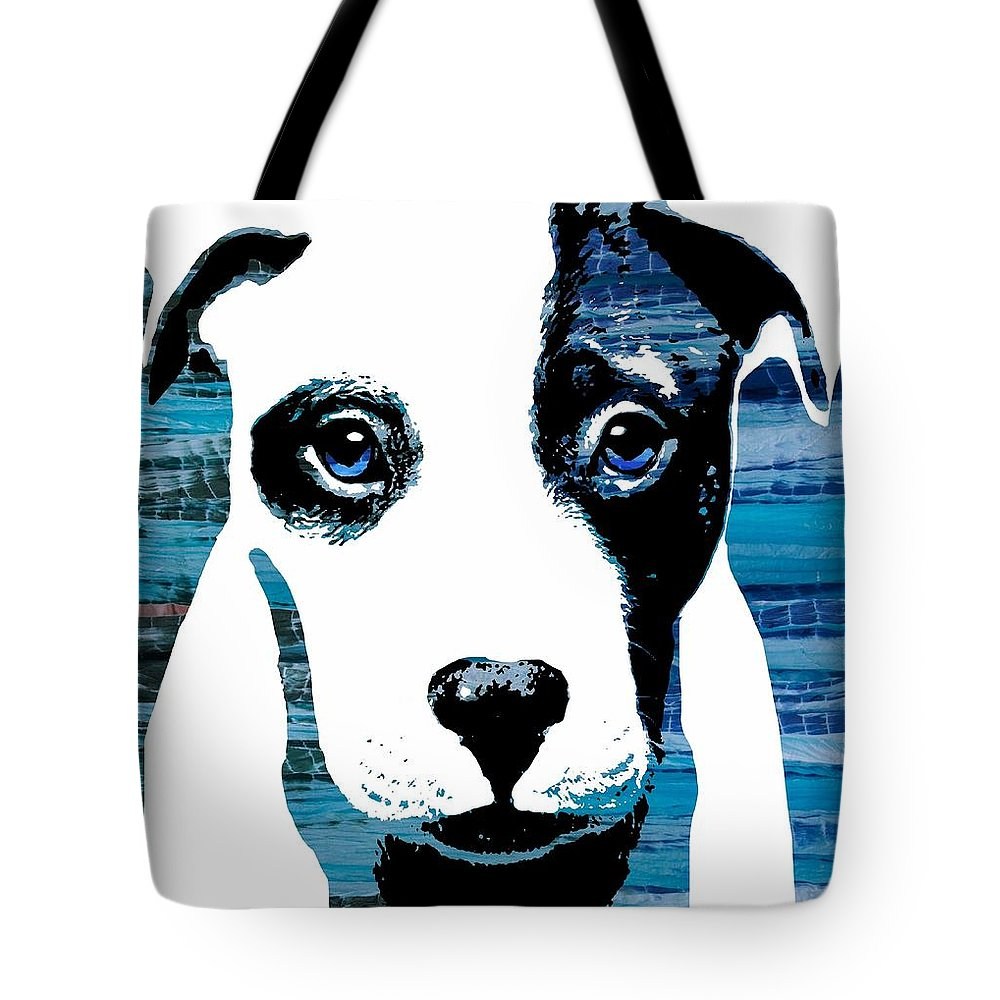 Nd Tote Bag featuring the digital art Beautiful Pit by Cindy Edwards
