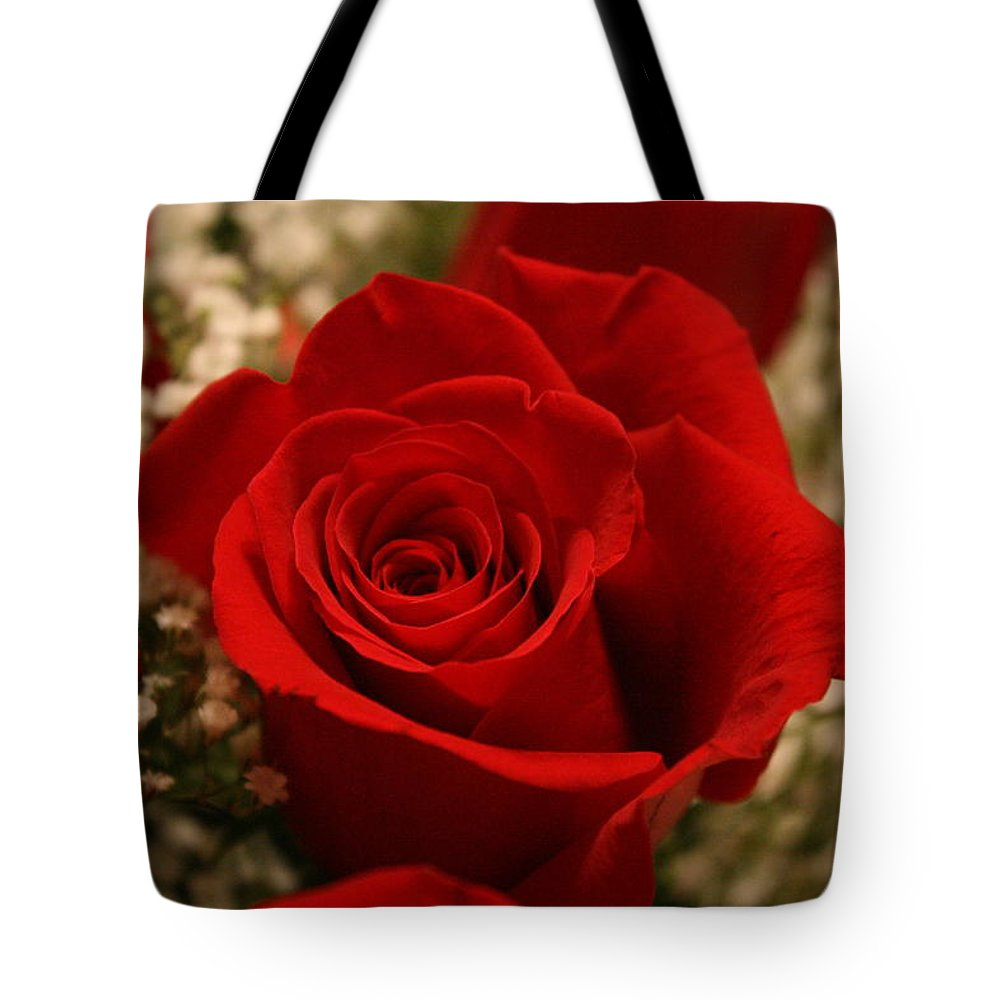 Tote Bag featuring the photograph Beautiful Rose by Bobby Uzdavines