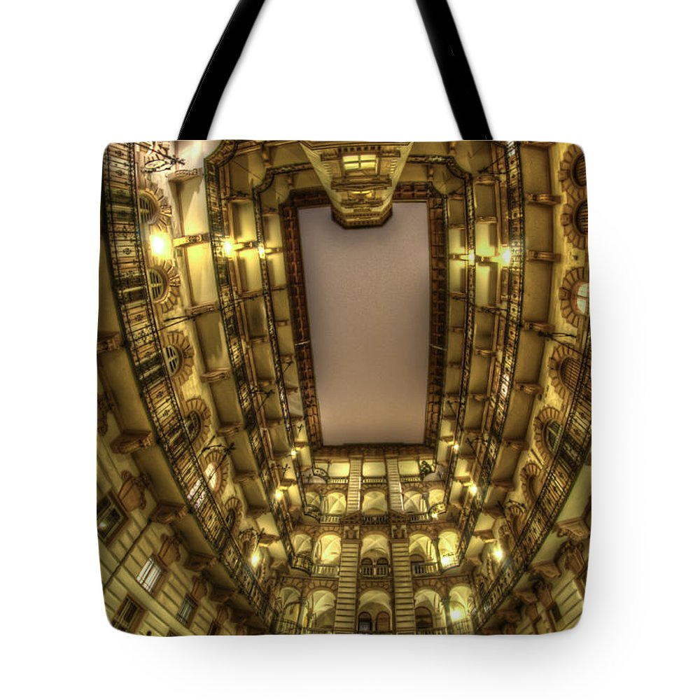 Travel Tote Bag featuring the digital art Beauty From Within by Nathan Wright
