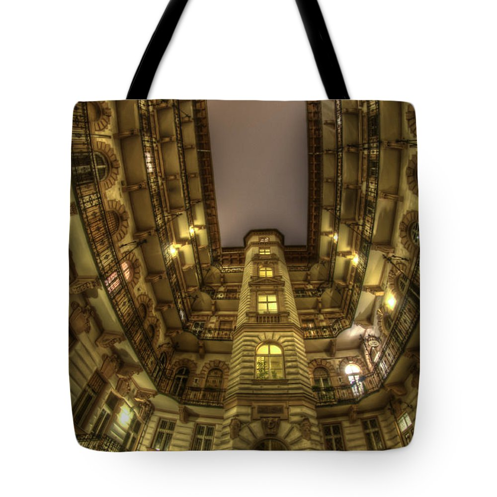 Travel Tote Bag featuring the digital art Beauty From Within The Other Side by Nathan Wright