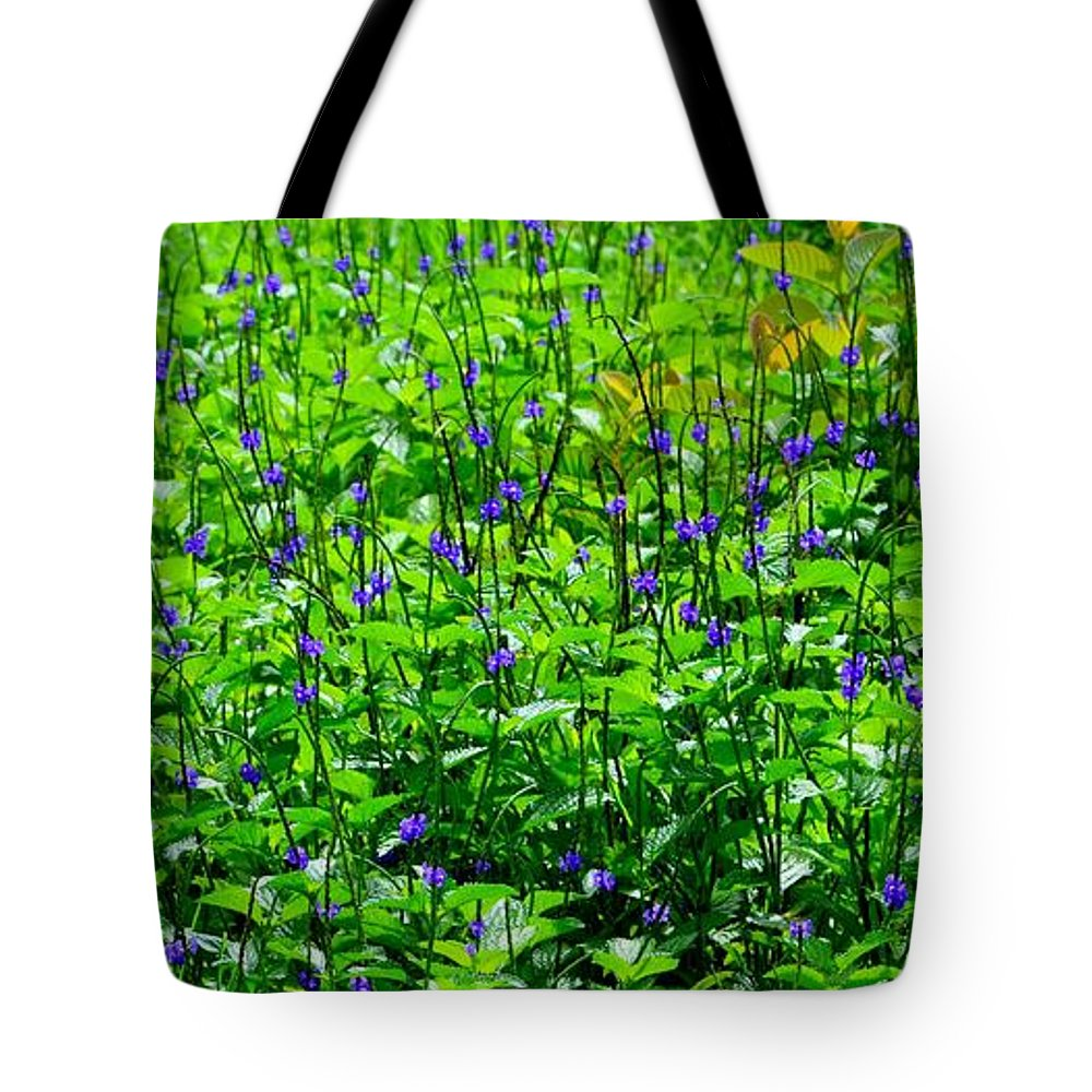 Flowers Tote Bag featuring the photograph Beauty In The Meadow by Mary Deal
