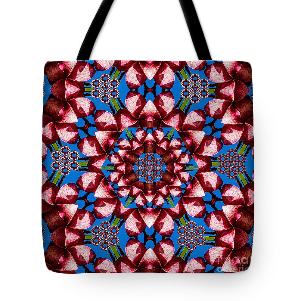 Kaleidoscope Tote Bag featuring the photograph Beauty Of Aruba Kaleidoscope by Judy Wolinsky