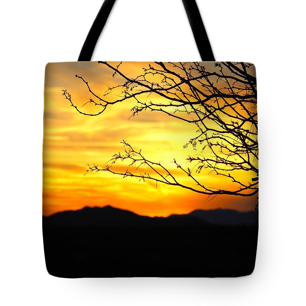 Sunset Tote Bag featuring the photograph Beauty by Tiffany Erdman