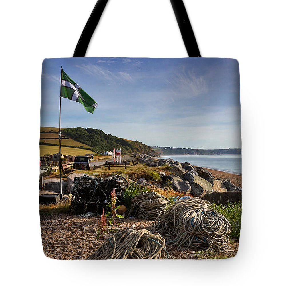 Travel Tote Bag featuring the photograph Beesands by Louise Heusinkveld
