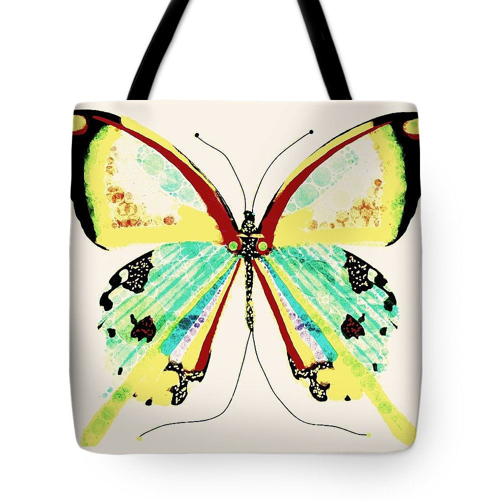 Butterfly Tote Bag featuring the digital art Before Him by Steven Boland