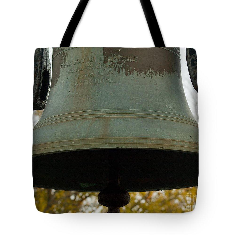 Tote Bag featuring the photograph Bell by Tara Lynn