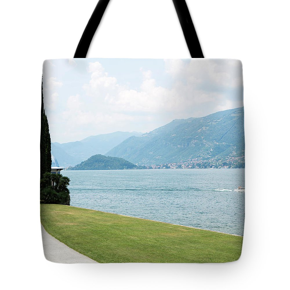 Tranquility Tote Bag featuring the photograph Bellagio, Lake Como, Lombardy, Italy by Tim E White