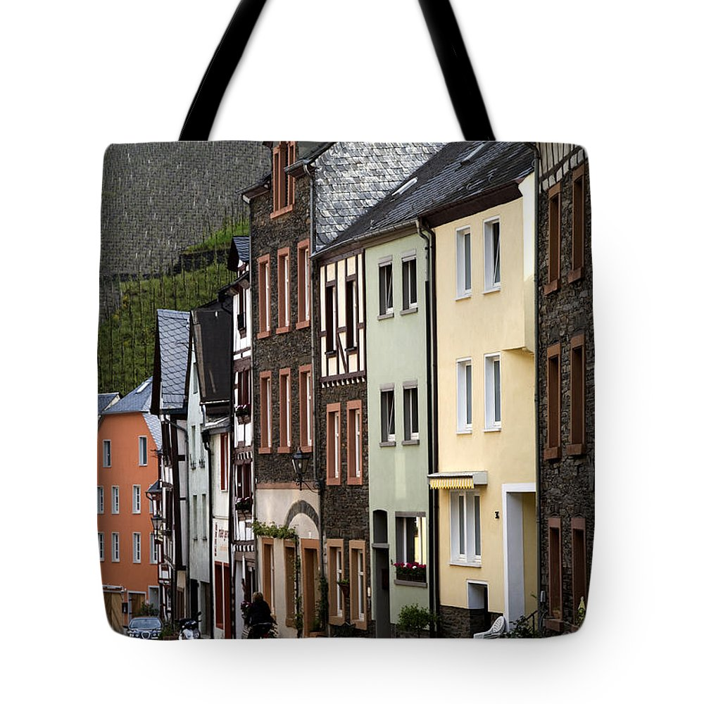 Germany Tote Bag featuring the photograph Bernkastel Germany by Greg Kluempers