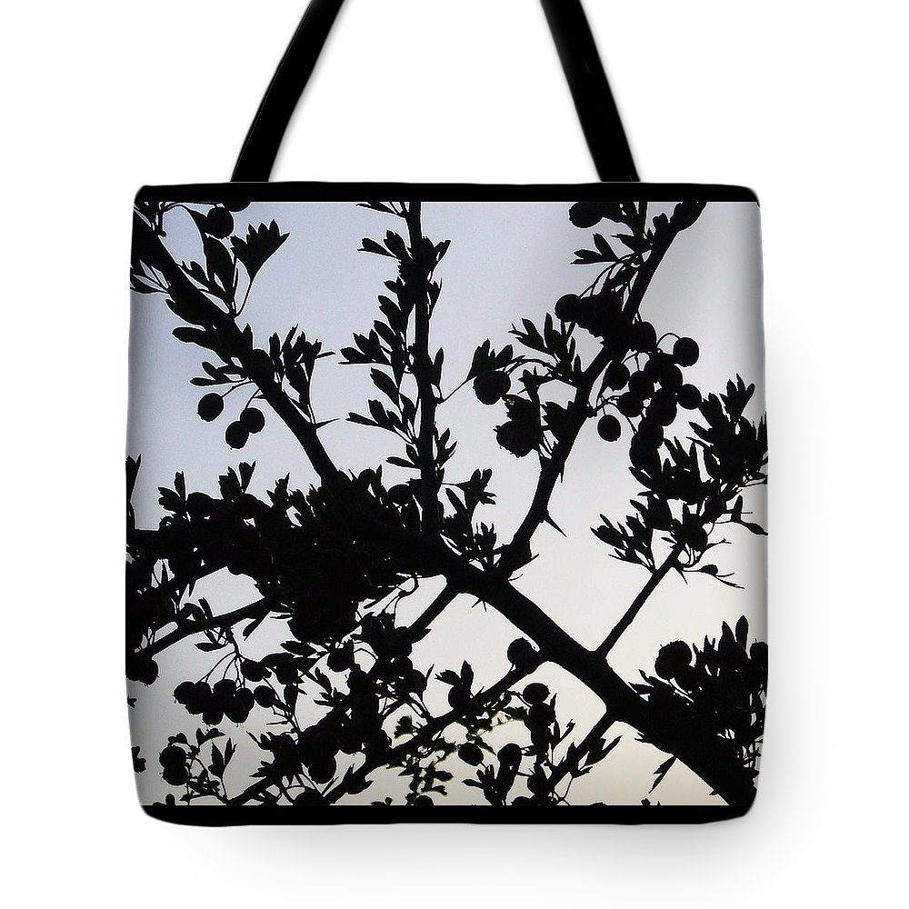 Berries Tote Bag featuring the photograph Berry Bush by Russ Murry