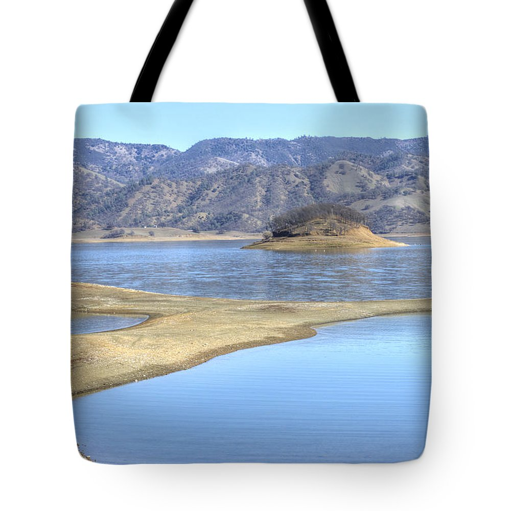 Lake Tote Bag featuring the photograph Berryessa Lake by Diego Re