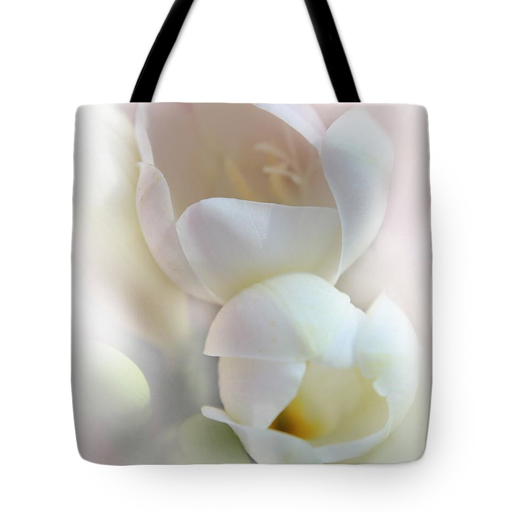 Flower Petals Tote Bag featuring the photograph Better Together by Kume Bryant