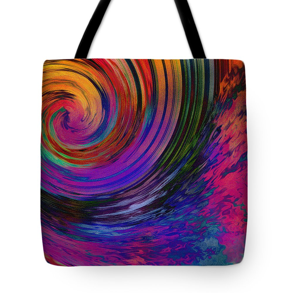 Abstract Tote Bag featuring the photograph Between The Eternities by Deena Stoddard