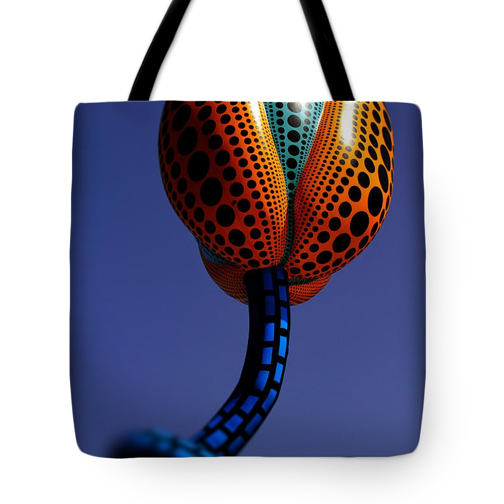 Hymns Of Tulips Tote Bag featuring the photograph Beverly Hills Hymns Of Tulips Sculpture By Diana Sainz by Diana Raquel Sainz