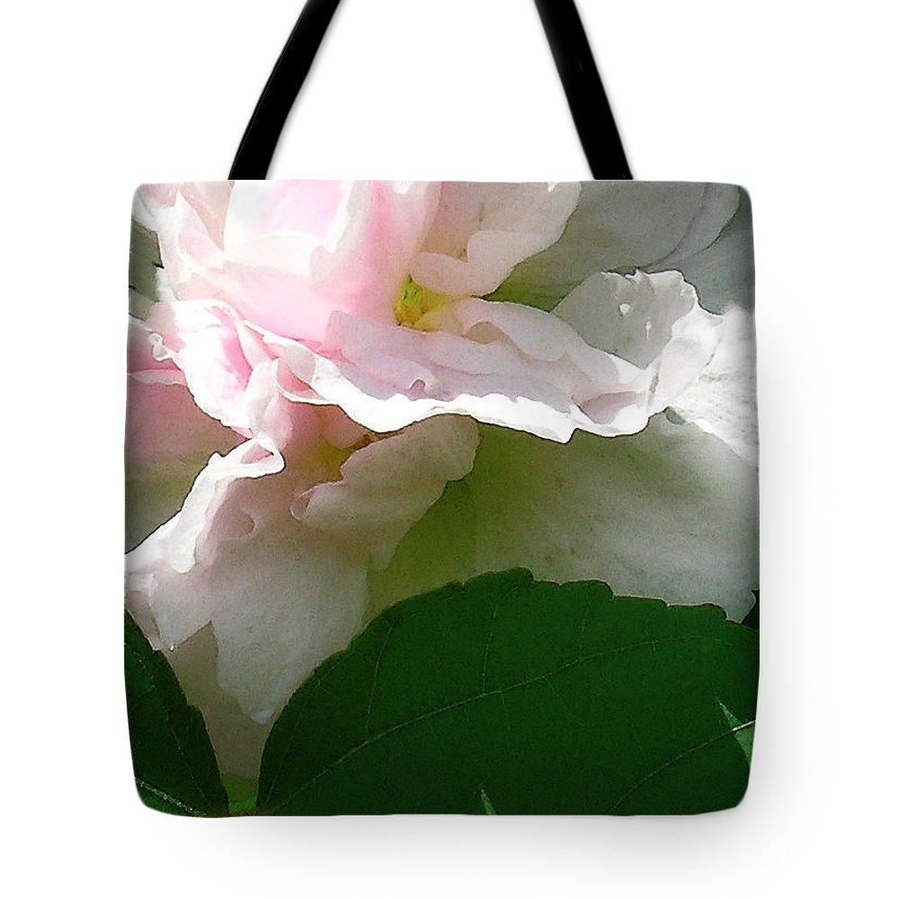 Hawaii Iphone Cases Tote Bag featuring the photograph China Rose 2 by James Temple