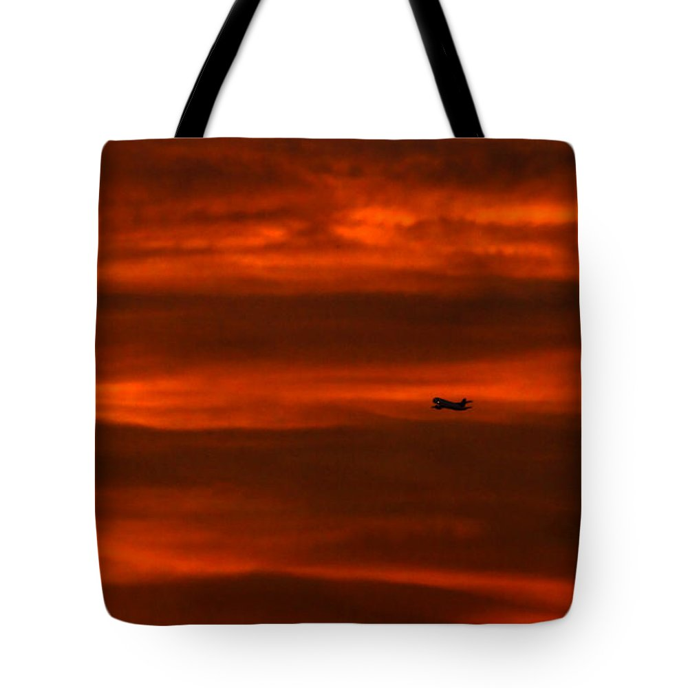 Skies Tote Bag featuring the photograph Beyond Now By Denise Dube by Denise Dube