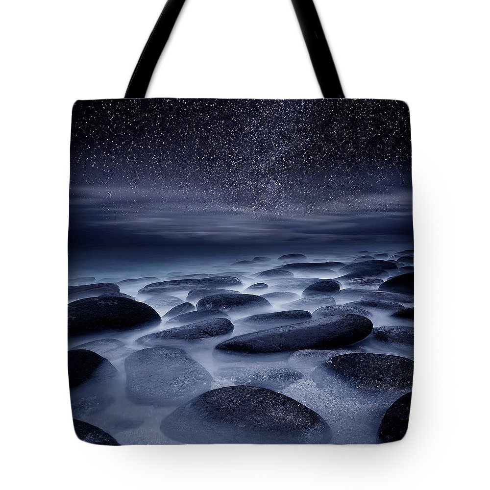 Night Tote Bag featuring the photograph Beyond our Imagination by Jorge Maia