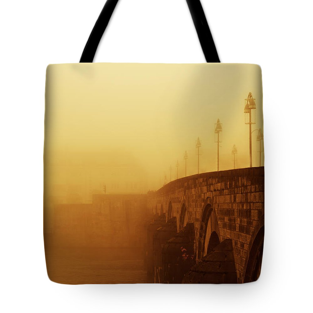 Landscape Tote Bag featuring the photograph Beyond The Clouds by Studio Yuki
