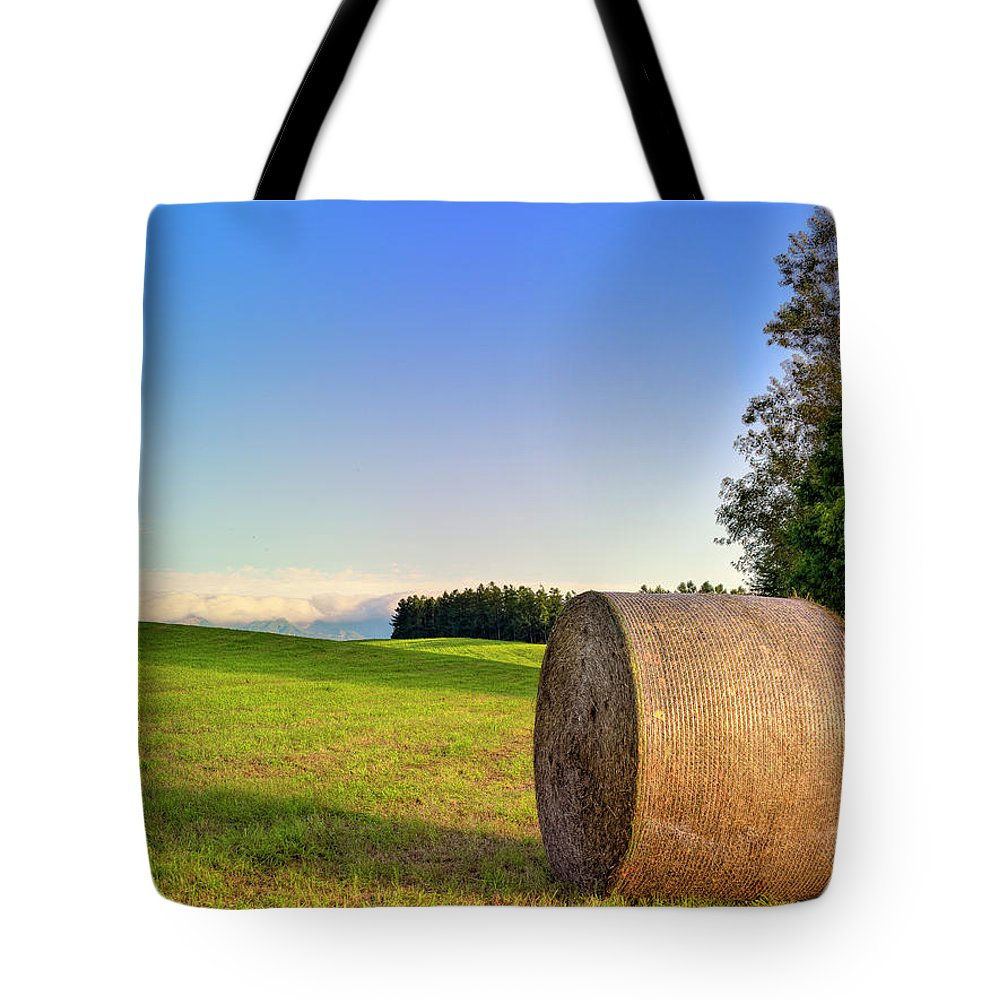 Tranquility Tote Bag featuring the photograph Biei, Hokkaido Japan by Photo By Johnny Ngai