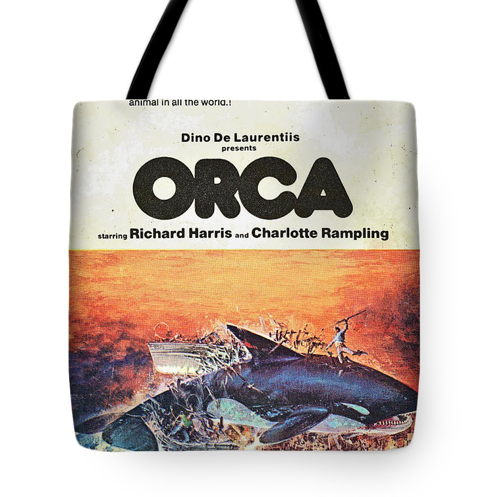 Whale Tote Bag featuring the photograph Big Bad Whale by Costa Kamateros
