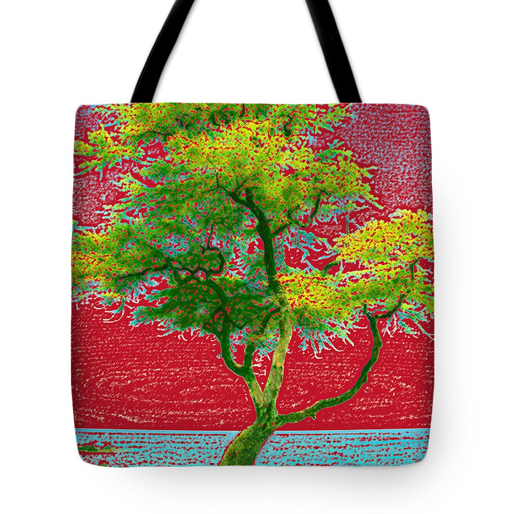 Landscape Tote Bag featuring the photograph Big Island Tree by Andre Aleksis