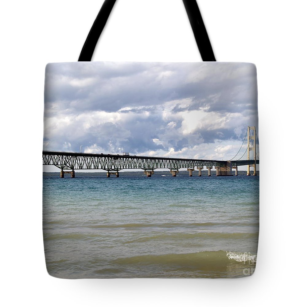 Bridge Tote Bag featuring the photograph Big Mac by Melissa McDole