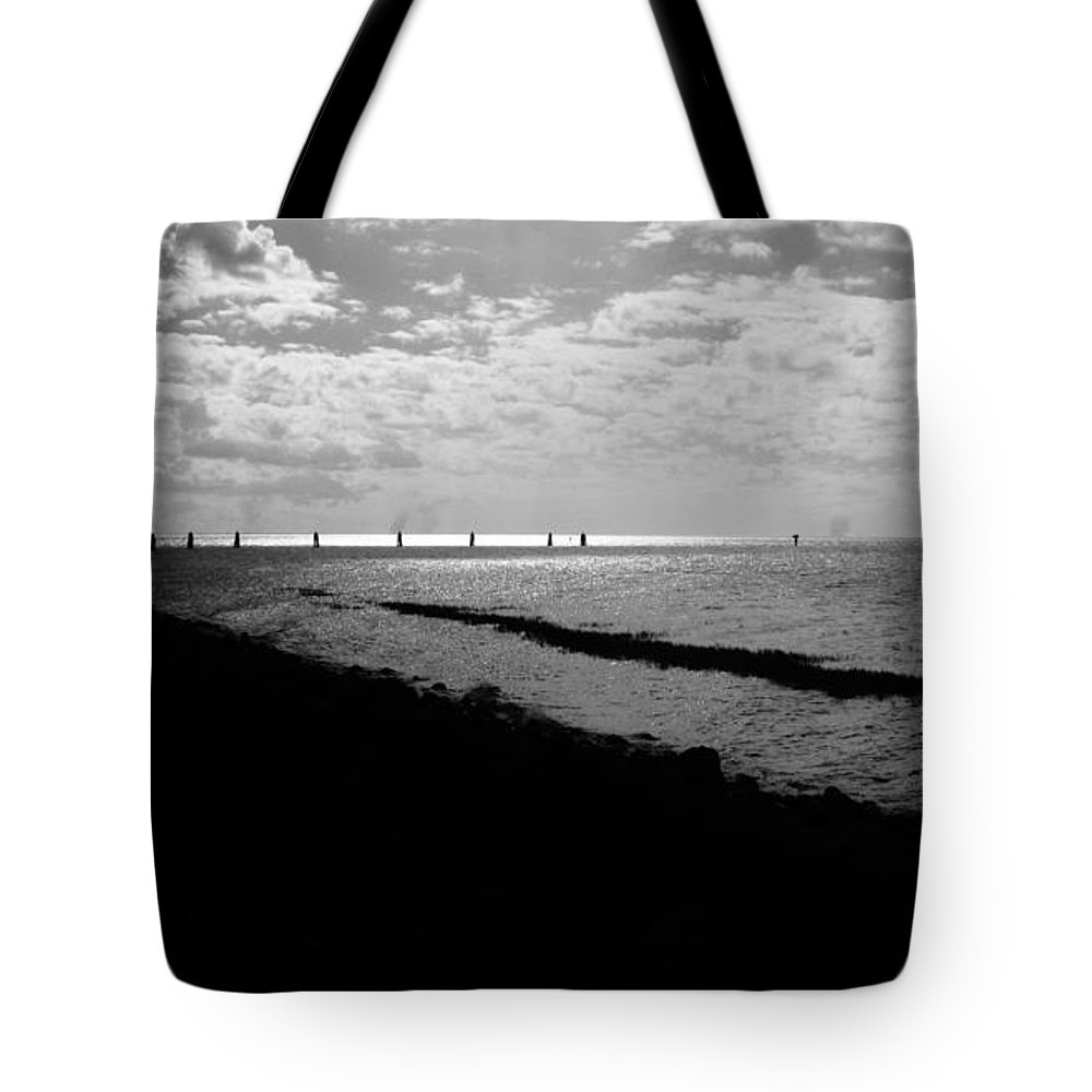 Keri West Tote Bag featuring the photograph Big O Port by Keri West