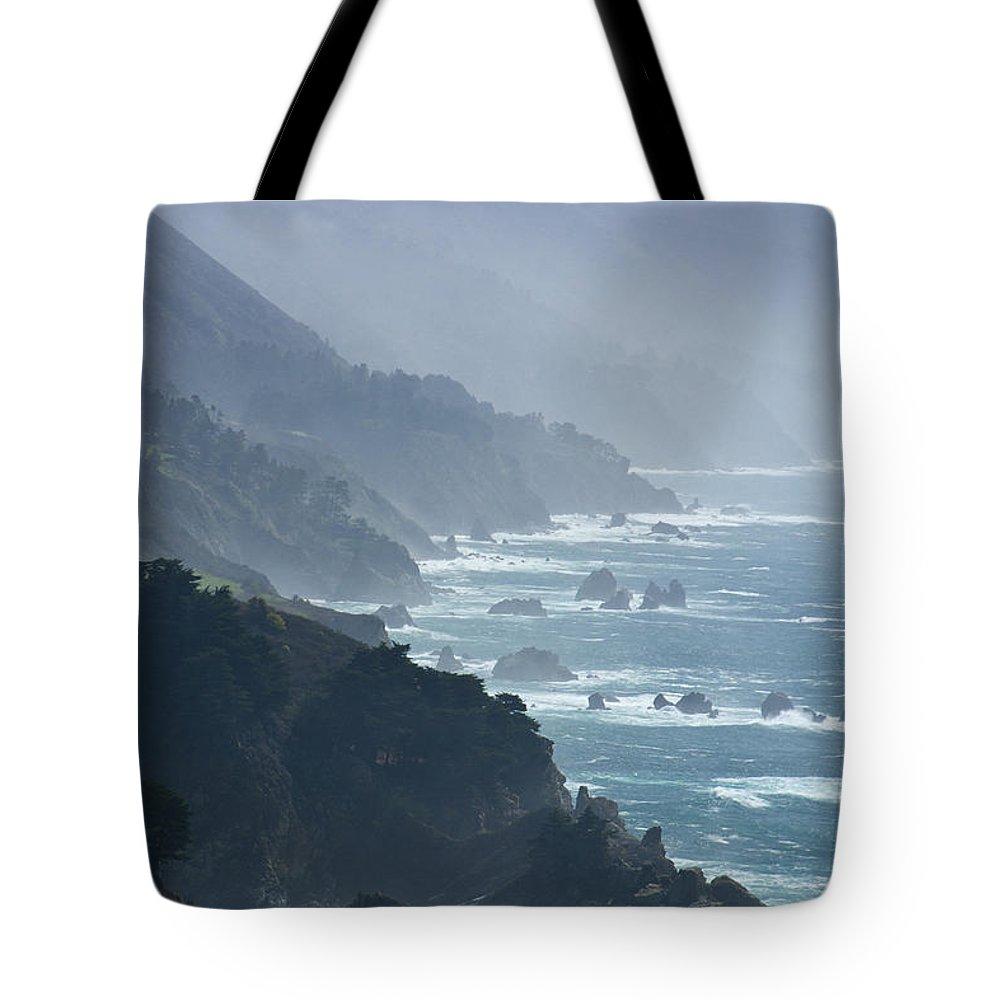 Big Sur Tote Bag featuring the photograph Big Sur 2 by Doug Matthews