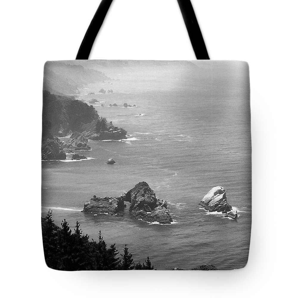 Landscape Tote Bag featuring the photograph Big Sur 4 by John Schneider