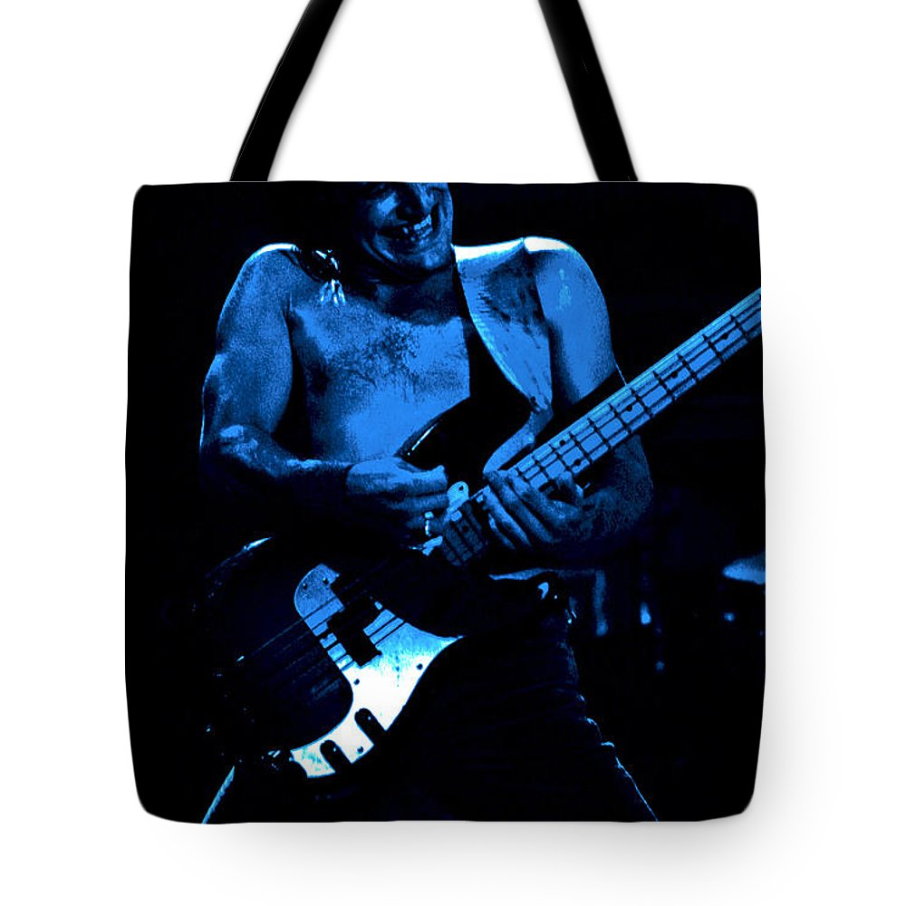 Bill Church Tote Bag featuring the photograph The Electric Church by Ben Upham