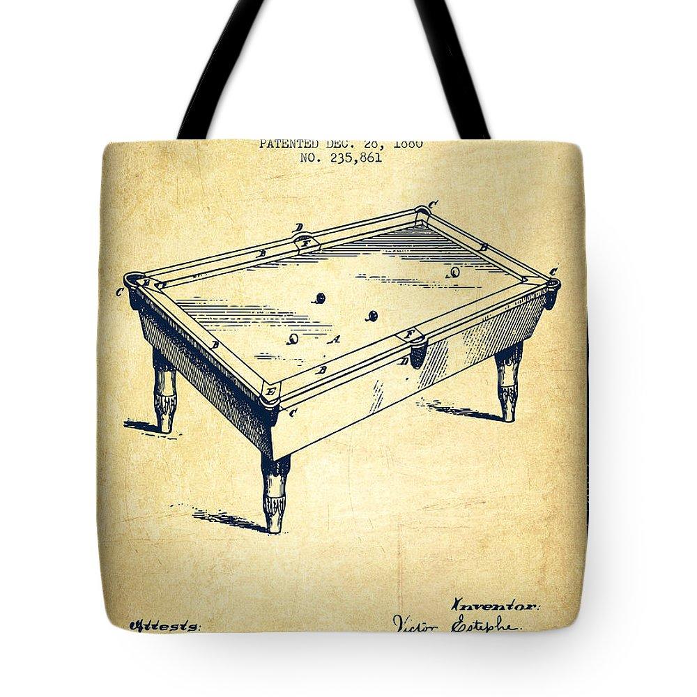 Billiard Stick Tote Bags | Fine Art America