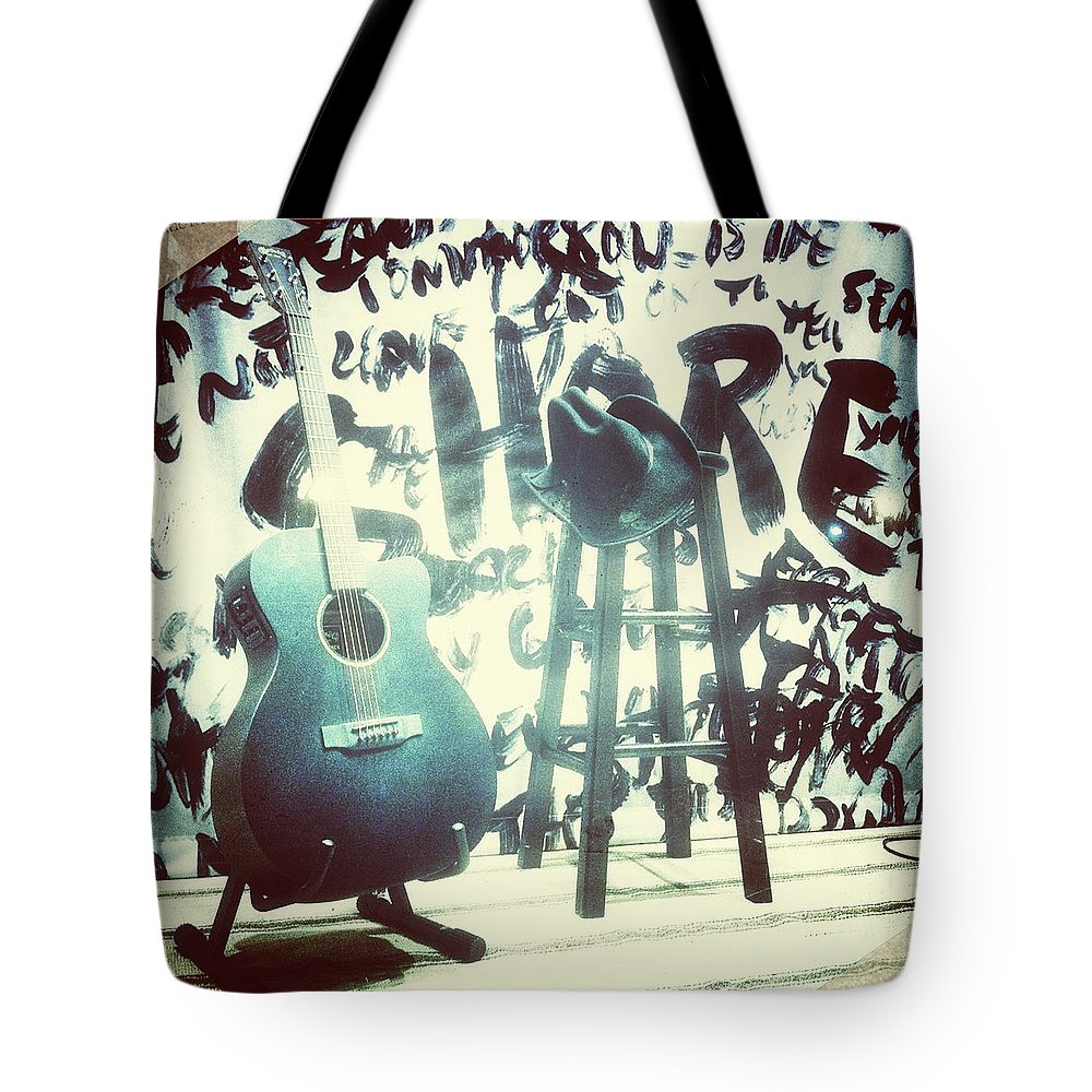 Ryan Bingham Tote Bag featuring the photograph Bingham by Natasha Marco