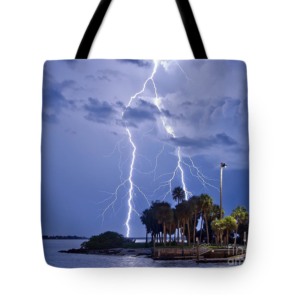 Florida Tote Bag featuring the photograph Bipolar by Stephen Whalen
