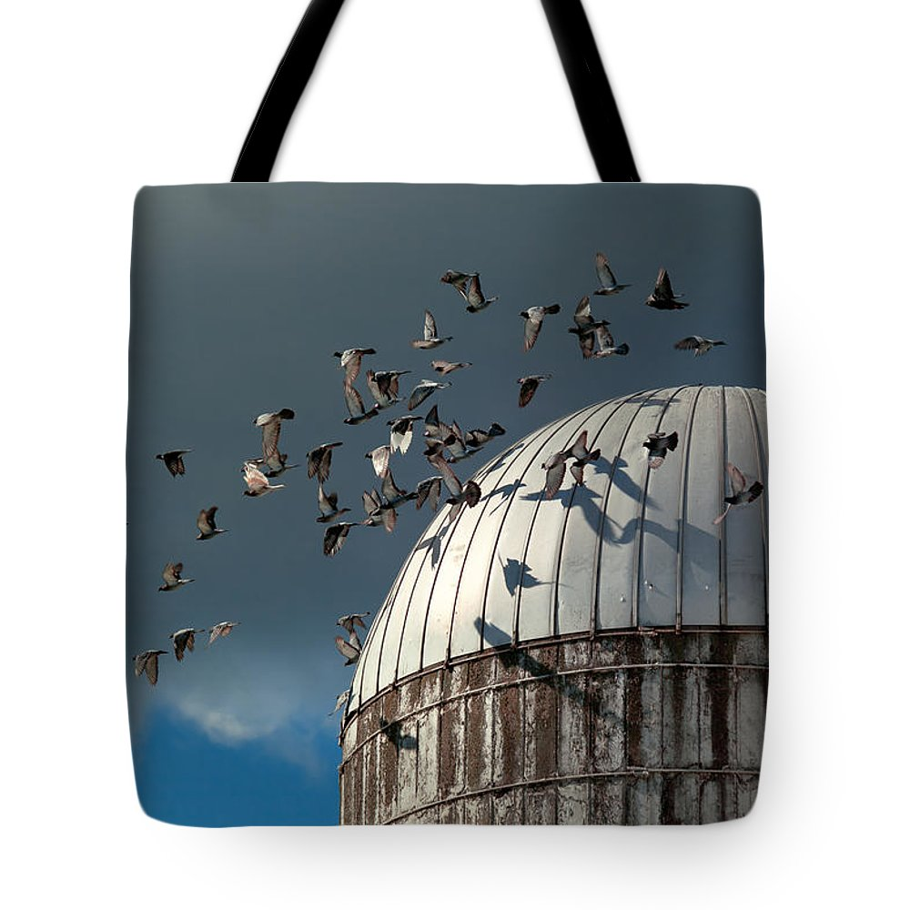 Silo Photographs Tote Bags