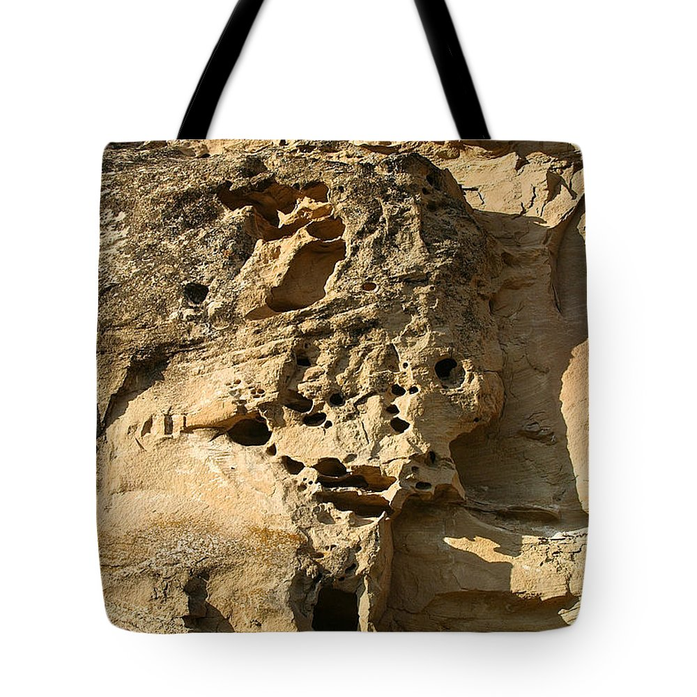 Outdoors Tote Bag featuring the photograph Bird Highrise by Susan Herber
